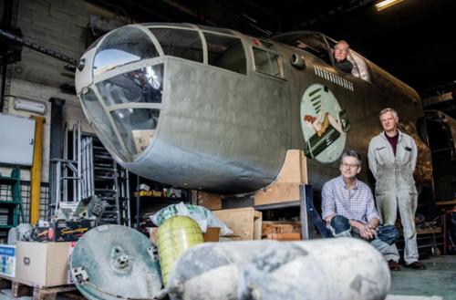 Mission: sauver le B-25 de George Clooney!