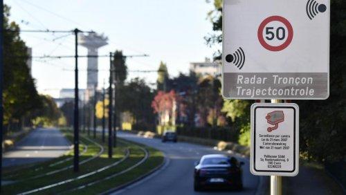La carte des nouveaux radars tronçons qui flasheront 24h/24 et 7 jours sur 7