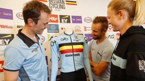 Mondiaux de cyclisme: les maillots du relais mixte belge mis aux enchères pour plus d'égalité des genres