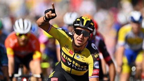 Tour de Wallonie: deuxième succès pour Groenewegen, Simmons toujours leader avant la dernière étape (vidéos)