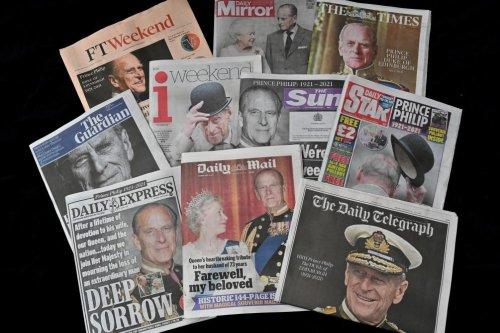 La presse britannique rend hommage à l'«indomptable» prince Philip