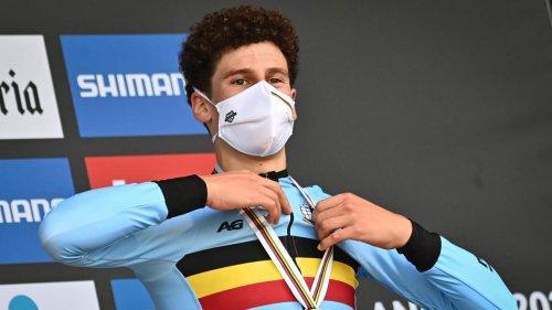 Mondiaux de cyclisme: Alec Segaert «aussi heureux avec le bronze qu'après son titre européen»