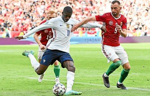 Euro 2020. Ousmane Dembélé forfait pour la suite de la compétition