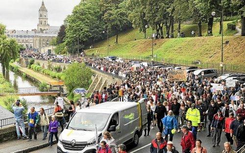 Plus de 10000 Bretons ont manifesté contre le pass sanitaire ce samedi [Vidéo]