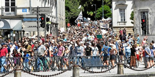 Nouvelle salve de manifestations contre le pass sanitaire ce samedi en Bretagne