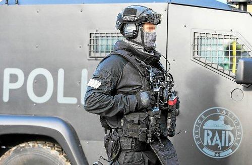 De la drogue et des armes saisies à Lorient avec l'aide du Raid
