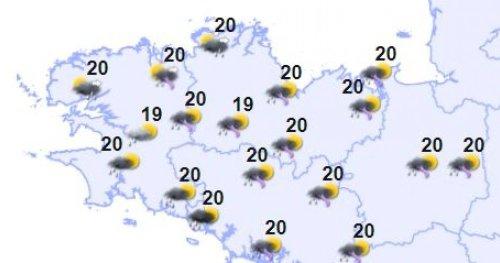 Météo en Bretagne : fin de la vigilance orange, mais des averses orageuses pourraient avoir lieu