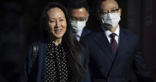 Accord pour un retour à Pékin de la directrice financière de Huawei