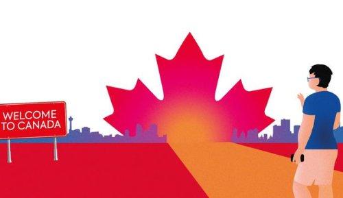 Le rêve américain a passé la frontière canadienne
