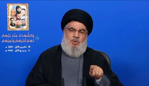 Liban: le Hezbollah dispose de 100.000 combattants, prévient Nasrallah