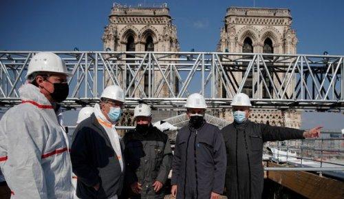 Notre-Dame: 840 millions d'euros de dons collectés