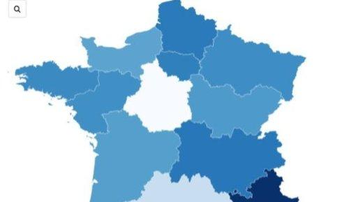 INFOGRAPHIES. Occitanie, Nouvelle-Aquitaine, Corse... Ces régions où l'épidémie flambe