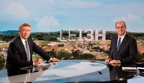 Castex au 13H de TF1: plus de 6 millions de téléspectateurs