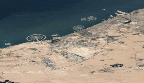 Google Earth permet désormais de voyager dans le temps