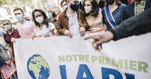 Marche pour le climat : à Paris, les leaders de gauche s'évitent soigneusement