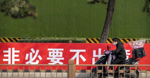 En Chine, les coursiers dans le viseur des autorités