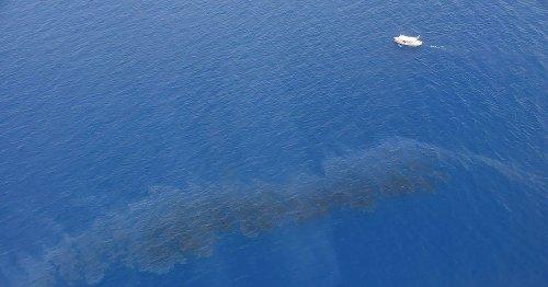 Pollution maritime au large de la Corse, le plan Polmar Terre actionné