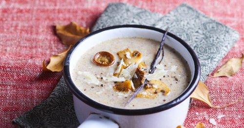 La recette du dimanche : un velouté de champignons au parmesan