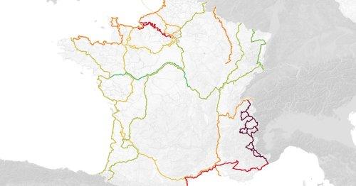 Seize itinéraires pour pédaler en vacances : la carte de France des véloroutes