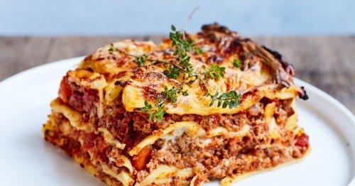 La recette du jour : des lasagnes sans béchamel
