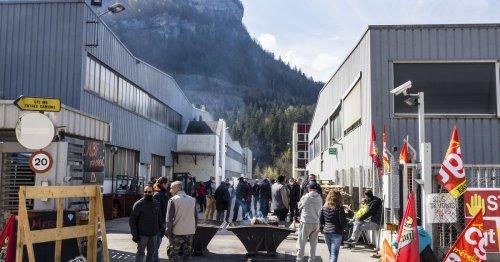Dans le Jura, 300 salariés en colère après la liquidation judiciaire de la fonderie MBF