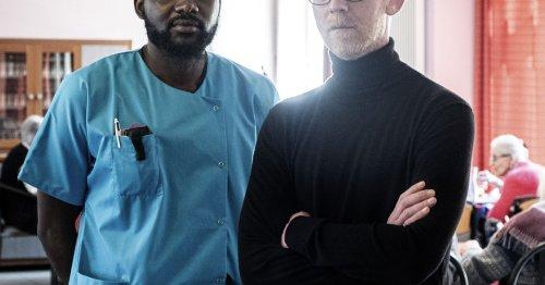 A Aurillac, un Ehpad se mobilise pour Ronaldo Mbumba