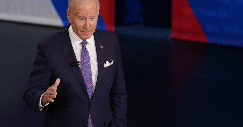 Joe Biden critique les actions «coercitives» de la Chine dans le Détroit de Taïwan