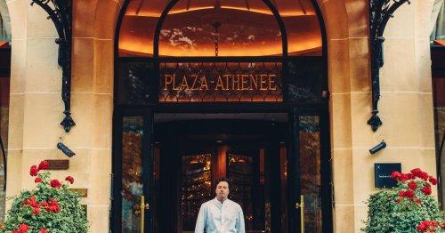 Plaza Athénée : Jean Imbert, en lieu et palace