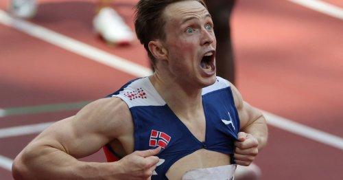 JO de Tokyo : le Norvégien Karsten Warholm explose le record du monde du 400 mètres haies