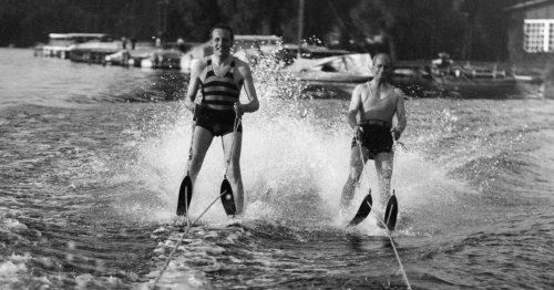 Avant le ski nautique, la marche sur l'eau