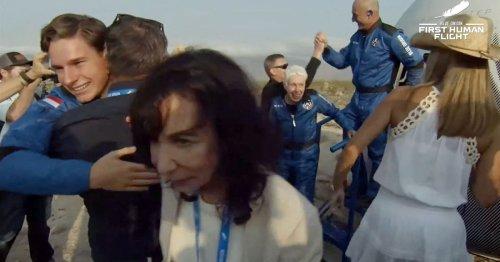 Macron visé par Pegasus, quatrième vague de Covid, Jeff Bezos dans l'espace... L'actu de ce mardi