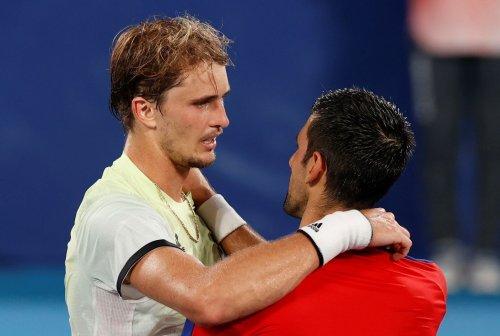 La presión sí afecta a Djokovic: sin oro tras perder ante Zverev
