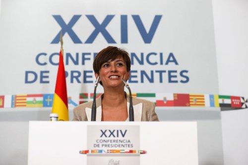 Balance del Gobierno: guiños al ausente Aragonès, dardos a Ayuso