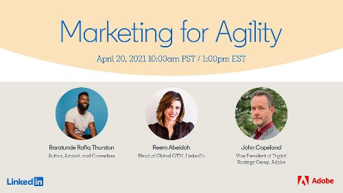 LinkedIn Marketing Solutions on LinkedIn: Marketing For Agility