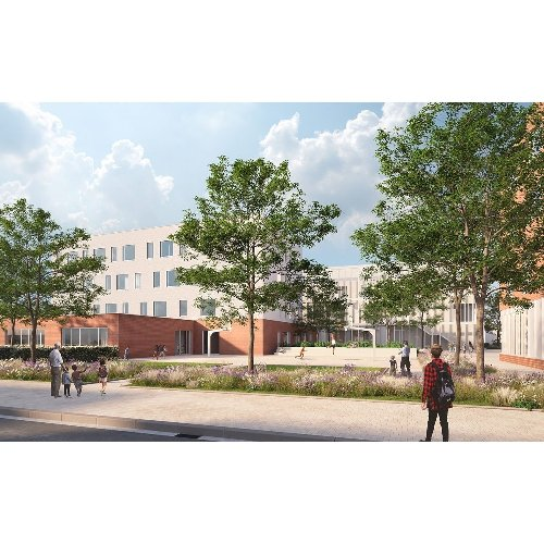 Architecten Groep III on LinkedIn: De omgevingsvergunning voor nieuwbouw scholencampus Sint-Jan Berchmans