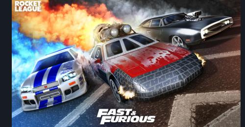 'Fast & Furious' Returns to Rocket League