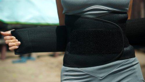 Nierenwärmer erzeugen unter Kleidung Wärme an kalten Tagen