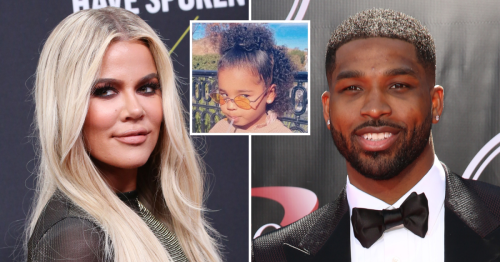 Khloe Kardashian and Tristan Thompson Have Lunch With Daughter True