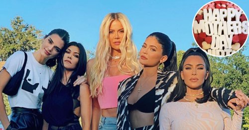 Kardashian-Jenner's 2021 Mother's Day Celebrations: See Photos