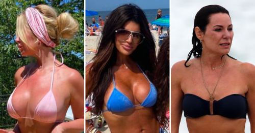 See the 'Real Housewives' Stars' Hottest Bikini Moments