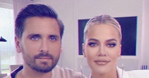 Scott Disick Claps Back at Fan Who Shades Khloe Kardashian's Looks