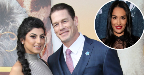 John Cena and Wife Shay Spotted Packing on PDA After WrestleMania