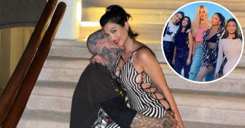 The Kardashian-Jenners React to Kourtney and Travis' Engagement News
