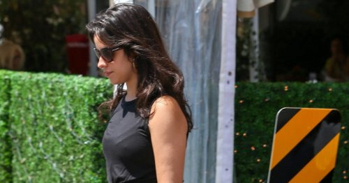 Camila Cabello Flaunts Her Curves in All-Black Workout Gear: Photos!