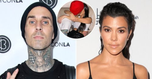Travis Barker Shares Steamy Snap of Kourtney in His Lap in His Cadillac