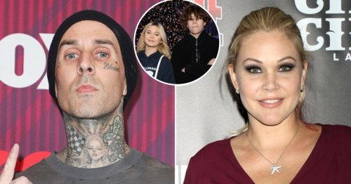 Travis Barker's Son Landon Claims Mom Shanna 'Isn't in' Her Kids' Lives