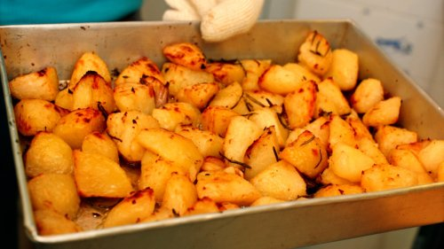 This One Simple Trick Makes The Crunchiest Roast Potatoes