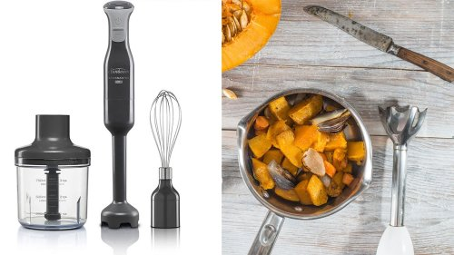 The Key to a Deliciously Creamy Pumpkin Soup is a Stick Blender