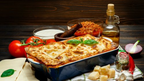 Here's A Lasagne Recipe You Can Make Using An Air Fryer