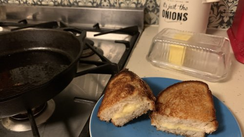 The Laziest Cheese Toastie Involves Just 3 Key Ingredients